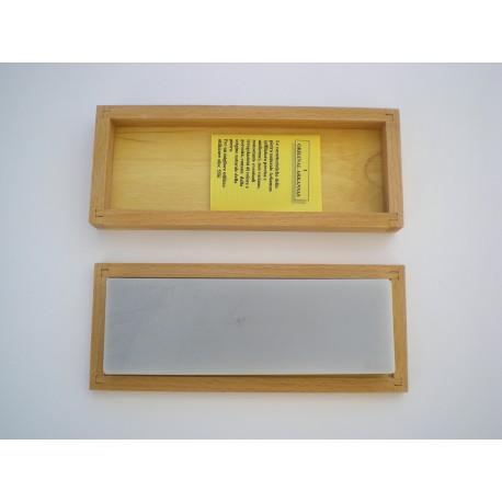 Pietra Arkansas mm.50x150 con astuccio legno
