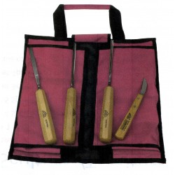 Serie 4 pezzi con borsa avvolgibile