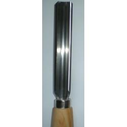 """Sgorbie di sgrossatura pesante """"tipo anglosassone"""" Stubai art.7008 mm.19"""