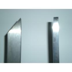 Bedano a profilo conico art.7050 mm.15x6